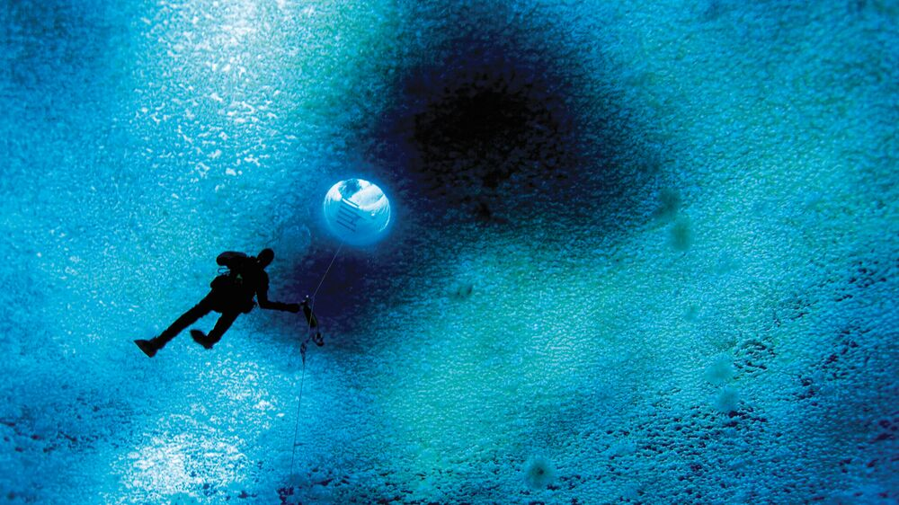 Ross Sea Diver at Turtle Rock