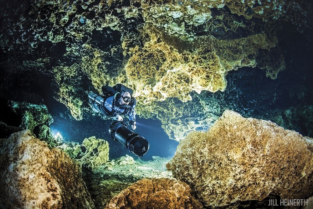 Five Amazing Underwater Caves And The Training You Need To Dive - 6 amazing underwater attractions