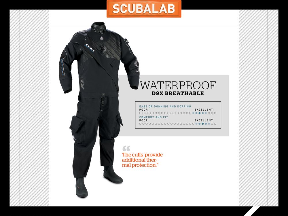 5e66c3c6e7 ScubaLab Drysuit Review Waterproof D9X Breathable