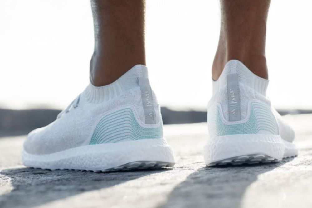 adidas shoes made from plastic marine debris will benefit the