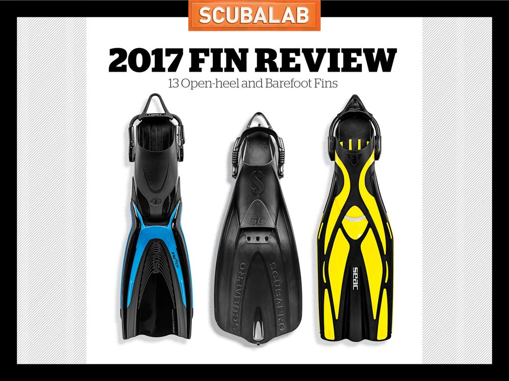 Scubalab 2017 Scuba Diving Fin Gear Review And Test