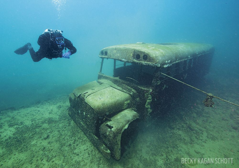 Scuba Diving At Dutch Springs Scuba Diving - 6 amazing underwater attractions