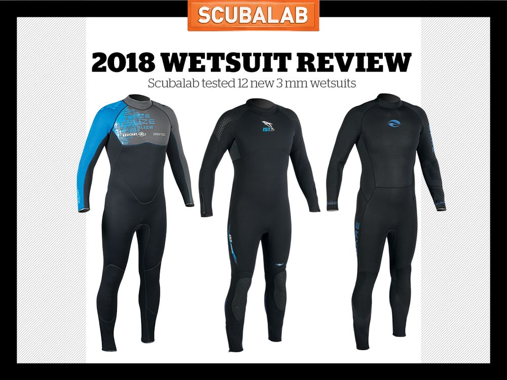 12 New 3mm Scuba Diving Wetsuits Tested By ScubaLab 2f46d4ead