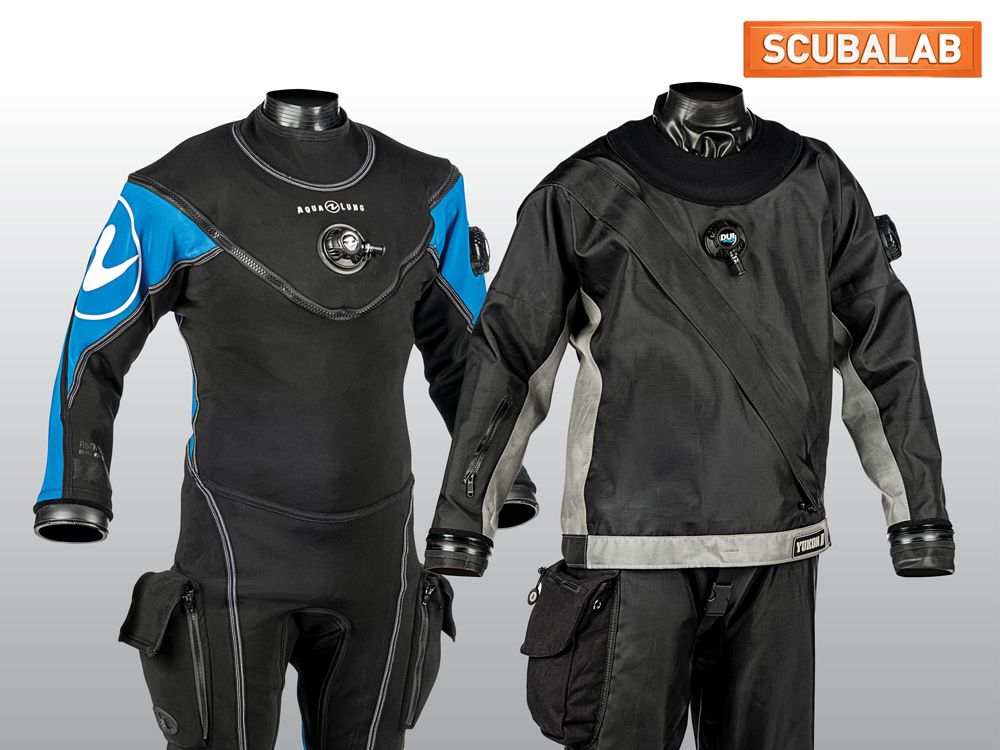 The Best Drysuits for Scuba Diving Reviewed by ScubaLab | Scuba Diving