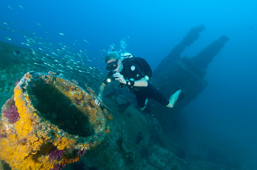Top Wreck Dives Of North Carolina Scuba Diving - 23 amazing things divers discovered bottom ocean