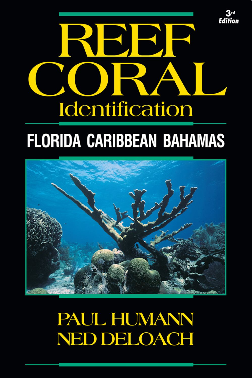 newest editions of reef coral and creature identification books