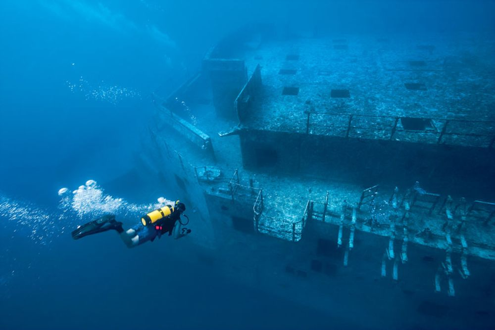Best Wreck Diving Spots In The US Scuba Diving - 23 amazing things divers discovered bottom ocean