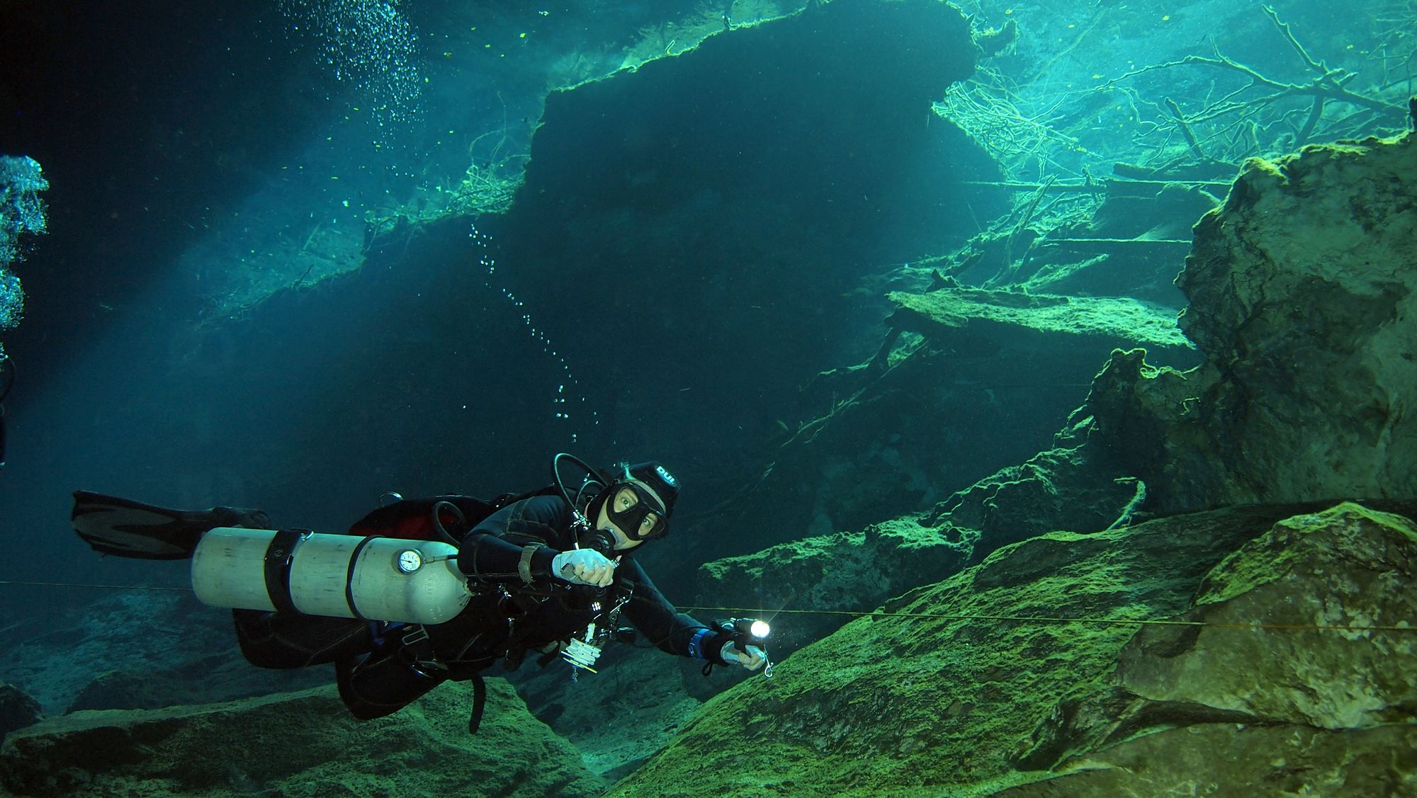 Discover the Mystical World of Cavern Diving