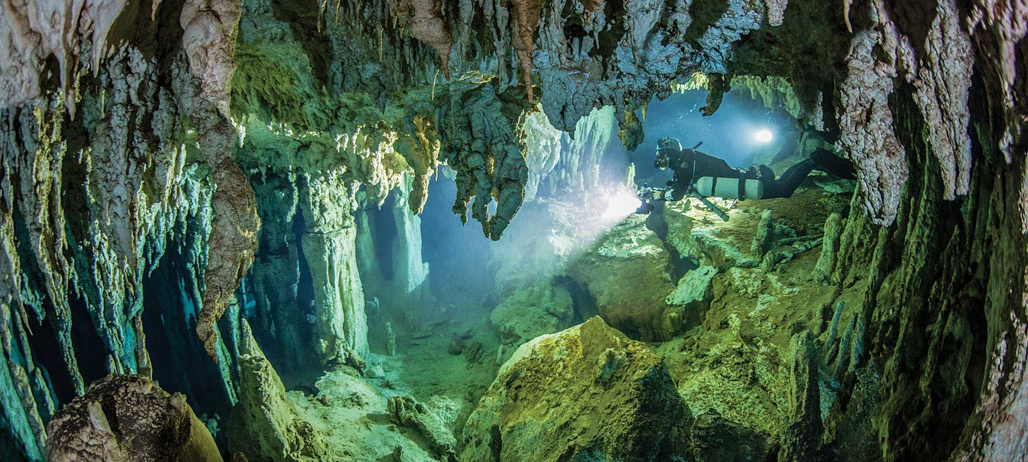 The Best Destinations for Diving Caves, Caverns and Grottoes