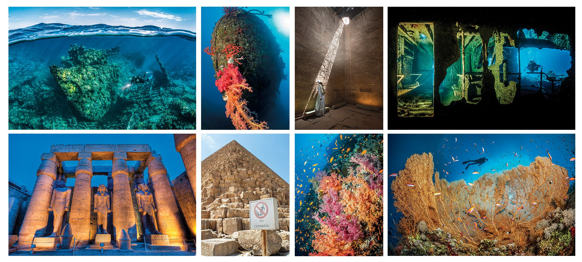 Egyptian Treasures: Uncovering the Wonders of the Red Sea and the Nile