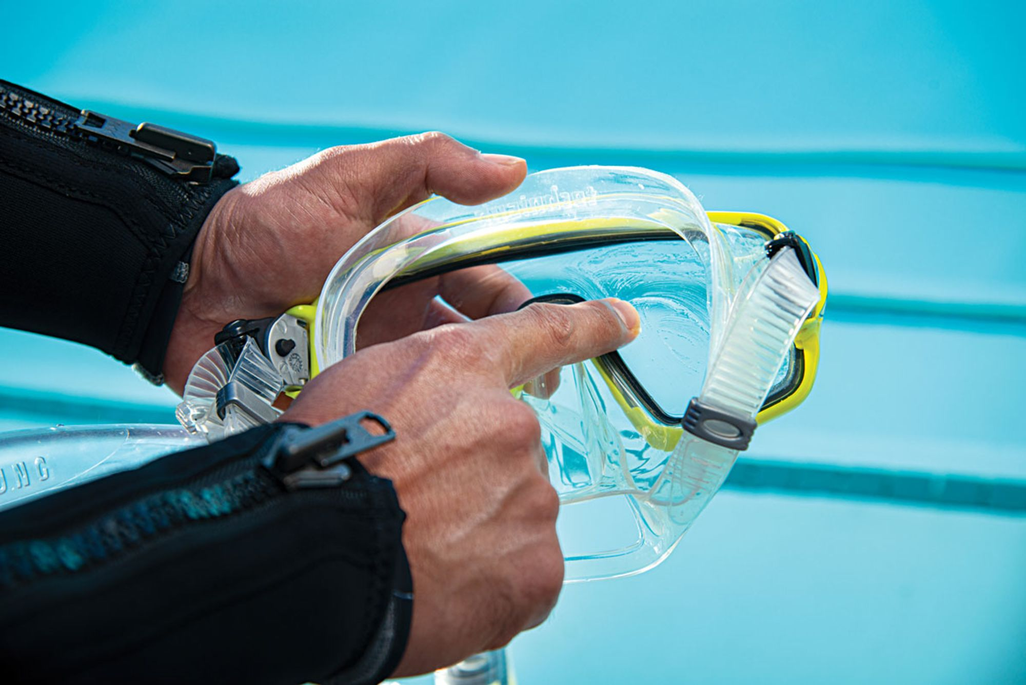 The Best Way to Clean Your New Dive Mask