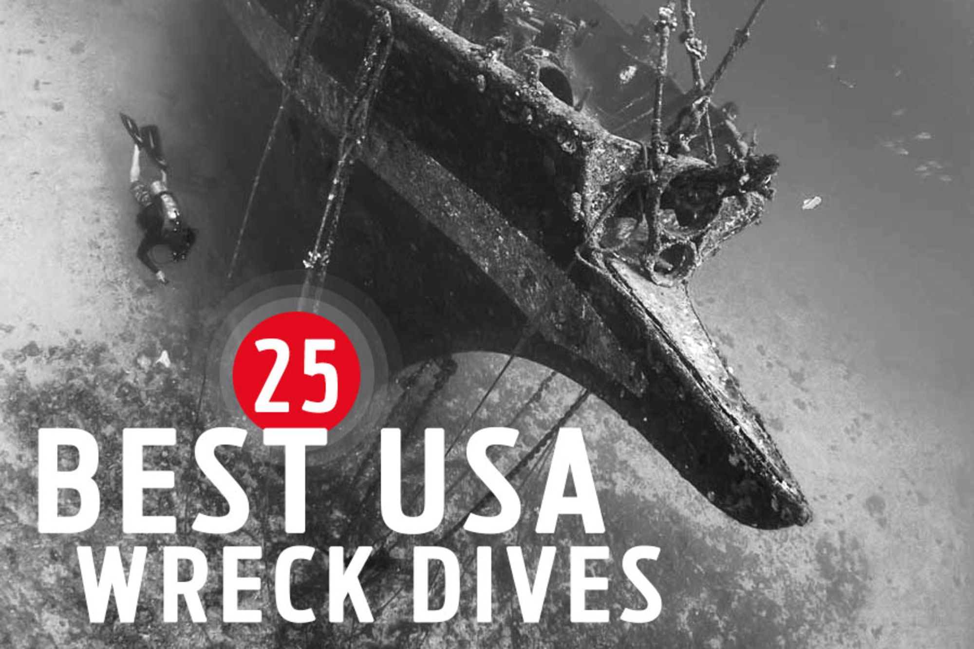 25 Best Wreck Diving Spots in the United States