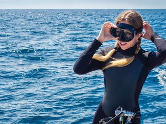 How to find a scuba diving mask that fits