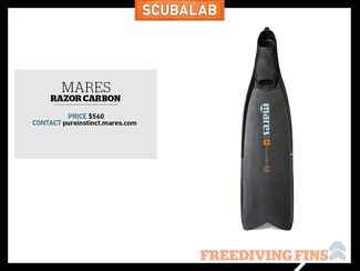 Mares freediving fin