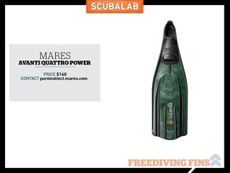 Freediving Fin Mares Avanti Quattro Power