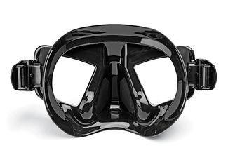 Freediving Mask Behind View