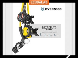 Beuchat V-Twin Scuba Regulator
