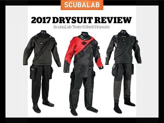 ScubaLab reviews the newest drysuits of 2017