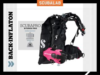 Scubapro Hydros Pro back-inflation BC ScubaLab review