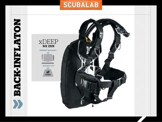 xDeep NY Zen back-inflate BC ScubaLab review