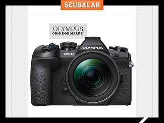 Olympus OM-D E-M1 Mark II camera for underwater photography