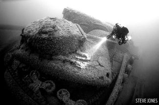 Empire Heritage wreck diving underwater photography