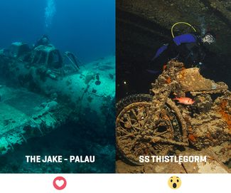 favorite wreck in world for diving