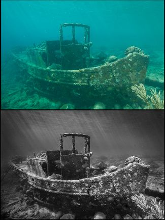 The Do's and Don'ts of Editing Shipwreck Photos