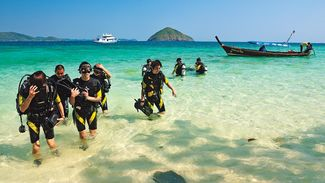 thailand diving