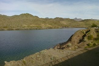 Scuba diving Lake Mead in Henderson, Nevada