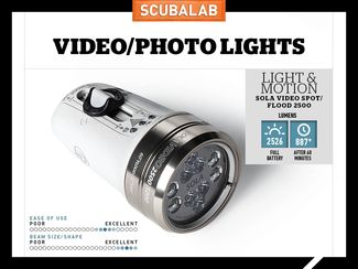 Light and Motion Scuba Diving flood Light Reviewed by ScubaLab