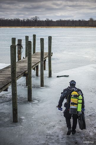 Scuba Diving in Cold Water — The Training You Need