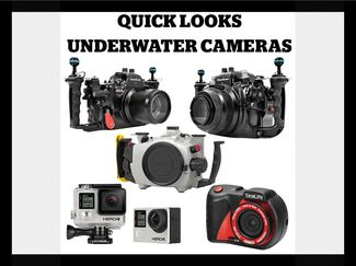 Underwater housings and cameras for photographers.