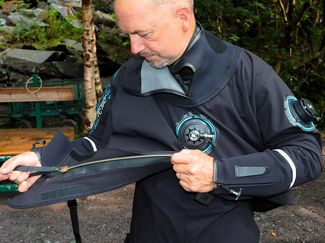 How to care for your drysuit