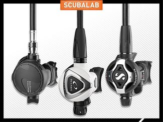Scuba diving regulator review ScubaLab 2017 gear