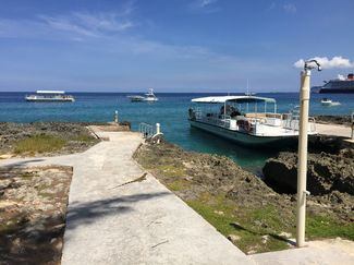 Easy entry to Casuarina Point Reef