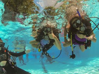 Indiana University begins an adaptive scuba program for children with physical disabilities and medical conditions