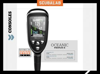 Oceanic ProPlus X console dive computer ScubaLab review