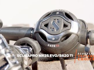 Scubapro MK25 EVO/S620 TI scuba regulator ScubaLab testers choice video review