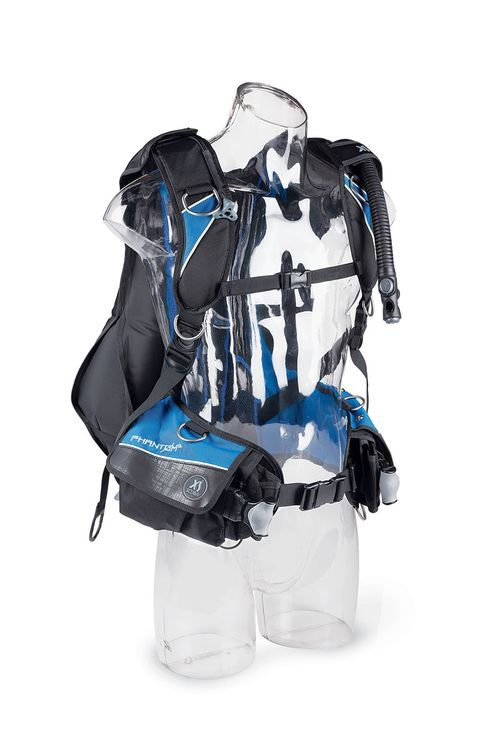 SEAC Modular MAX Interchangeable Scuba Diving Jacket Travel BCD for Dual Tanks Lightweight
