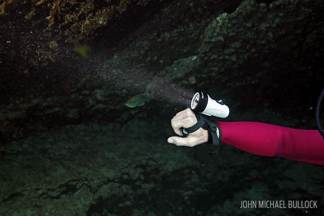 Behind the Scenes Photos: ScubaLab's Dive Light Review ...