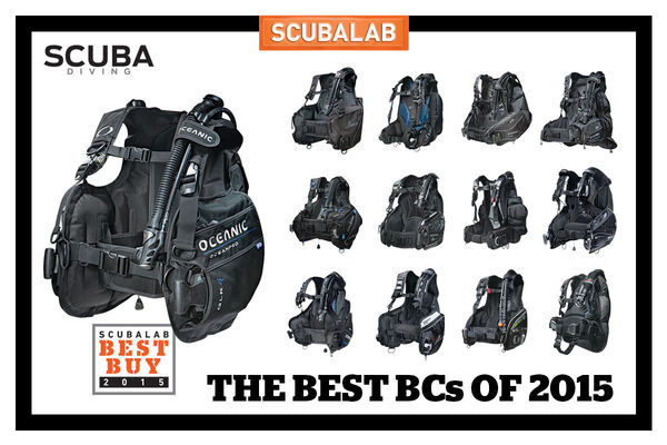 SCUBALAB: 13 New BCs Tested