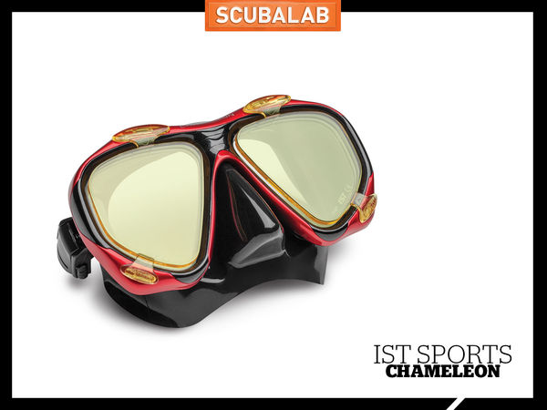 Scuba Diving Magazine IST Sports Mask Color Correcting Lenses