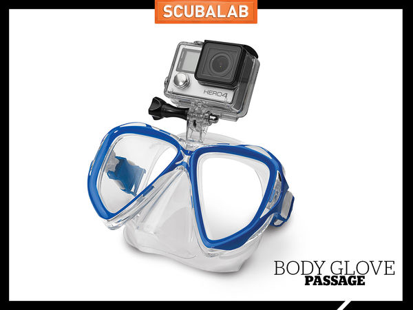Scuba Diving Mask Body Glove GoPro Mount