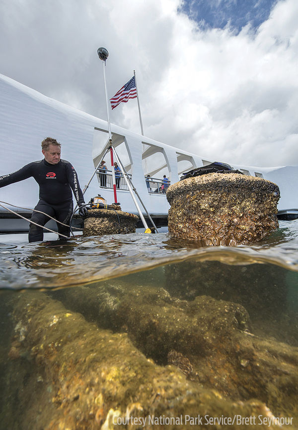 Diving USS Arizona 75 Years After Pearl Harbor Attack ...
