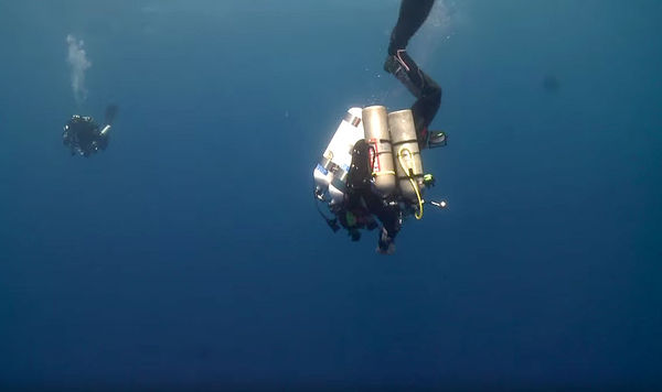 Dr. Guy Garman Prepares For World Record Deep Scuba Dive