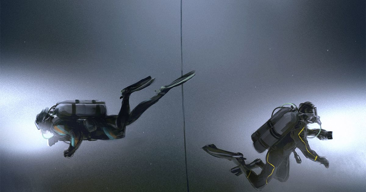 Two Divers Attempt To Set Personal Depth Record When