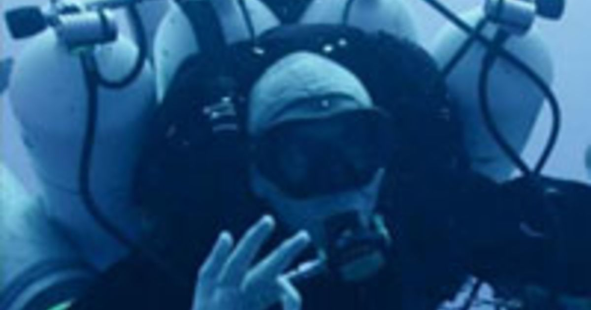 New World Record For Deepest Scuba Dive