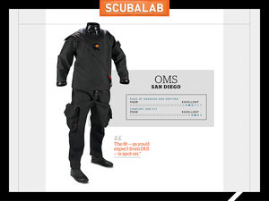 ScubaLab Drysuit Review OMS San Diego