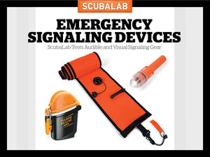 ScubaLab 2017 Audible and Visual Signaling Devices Gear For Scuba Diving